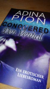 """Rezension """"Conquered – Der Verrat"""" von Adina Pion"""