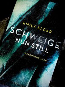 """Rezension """"Schweige nun still"""" von Emily Elgar"""