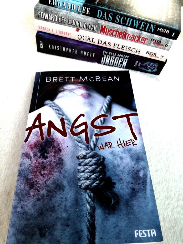 """Rezension """"Angst war hier"""" von Brett McBean"""