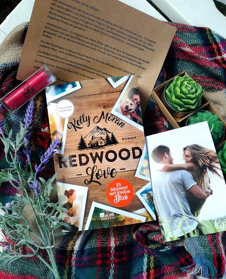"""Rezension """"Redwood Love – Es beginnt mit einem Blick"""" von Kelly Moran"""