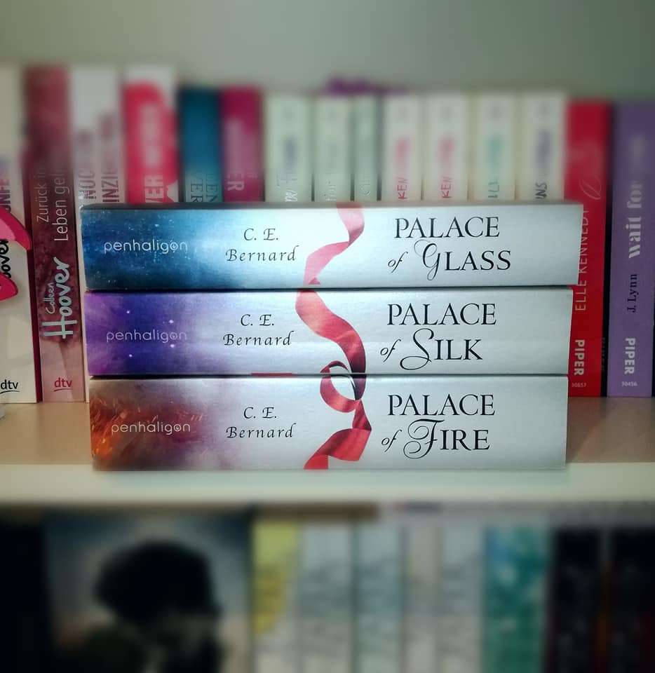 "Rezension ""Palace of Fire"" von C.E. Bernard"