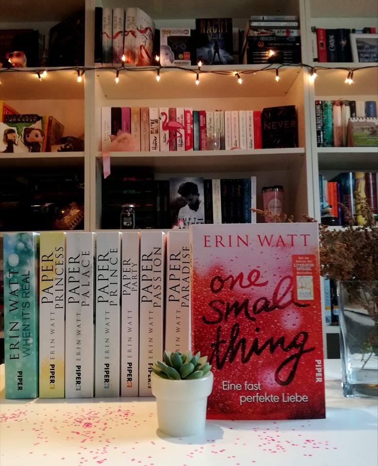 """Rezension """"One Small Thing – Eine fast perfekte Liebe"""" von Erin Watt"""