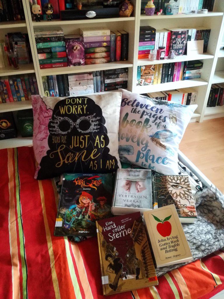 Bücher-Exil – Für 6 Wochen ein neues Zuhause