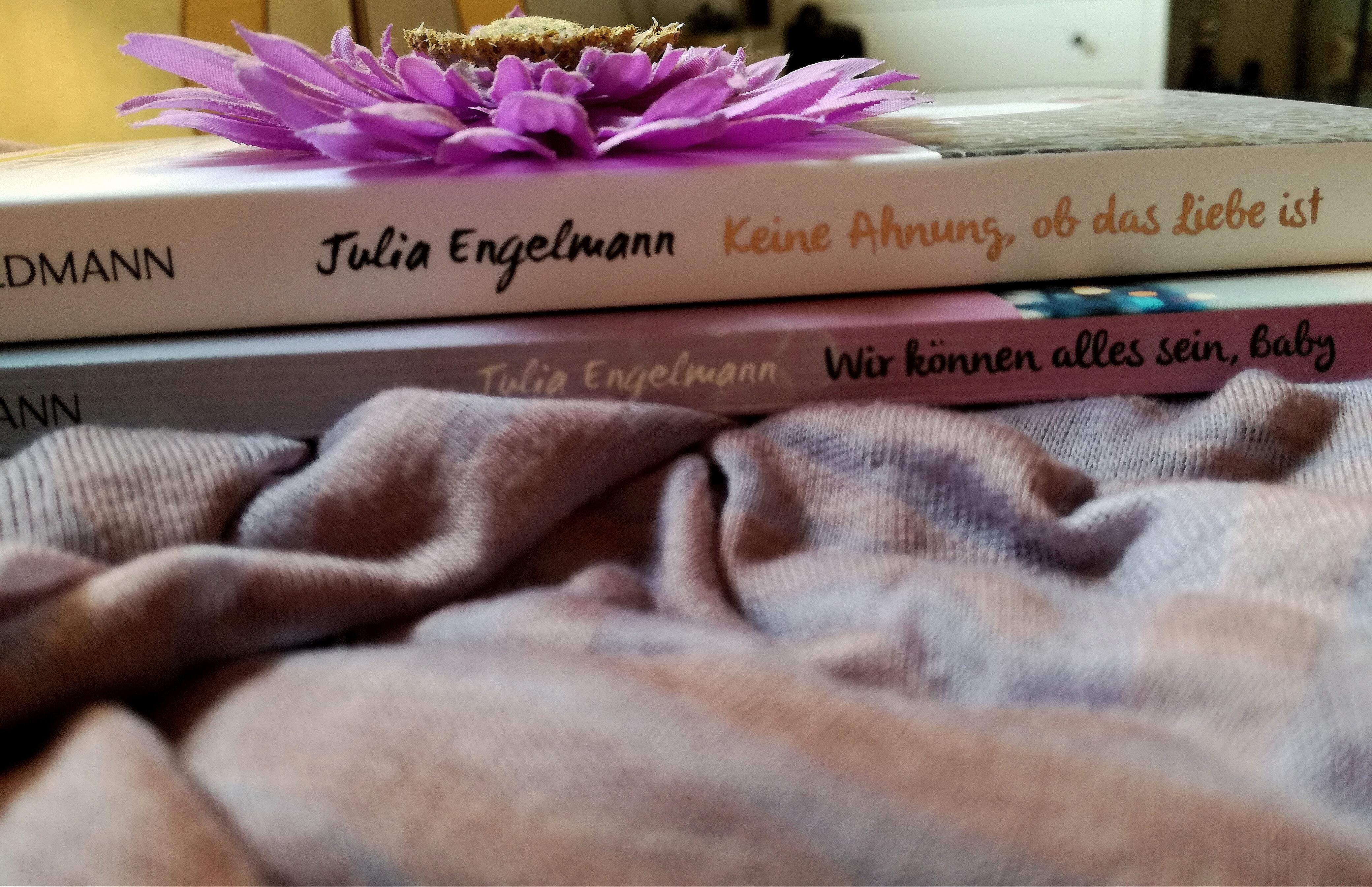 """Rezension """"Keine Ahnung, ob das Liebe ist"""" von Julia Engelmann"""