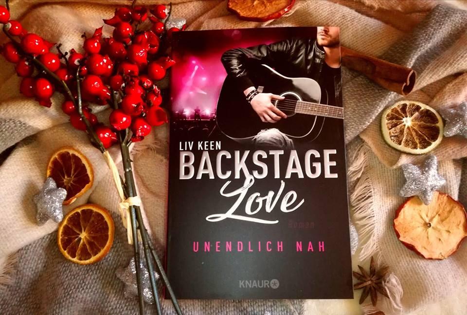 """Rezension """"Backstage Love – Unendlich nah"""" von Liv Keen"""